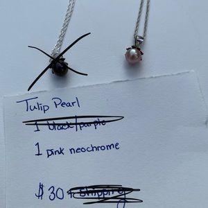 Tulip Pearl Vantel Pearls Necklace